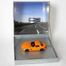 "1:43 Mercedes-Benz SLS AMG orange ""Mercedes-Benz Museum"" limitierte Auflage (MB)"