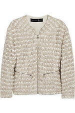 Theyskens' Theory Jutie Tweed Jacket (Large, suits 12+). rrp. £146