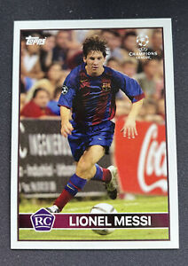 """Topps Now Lionel Messi Barcelona """"The Lost Rookie Card"""" 2004/05"""