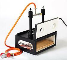 "DFHS2+2D/3.6"" GAS PROPANE FORGE Furnace Burner Blacksmith For Horse Shoes Makers"