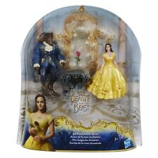 Beauty and the Beast enchanted rose scene girl toy. Hasbro, rose, beauty, beast