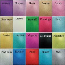 Kaisercraft Glitter Cardstock 12x12 - 20 Colours - 300gsm - Kaiser - Scrapbook -