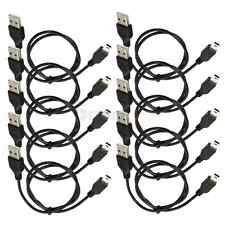 New Lot10 USB 2.0 A Male to 5pin Mini B Dada Power Cable FOR Mp3 Mp4 Camera 50cm