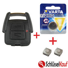 OPEL Autoschlüssel Reparatur SET Astra Corsa Meriva Omega Zafira Fernbedienung