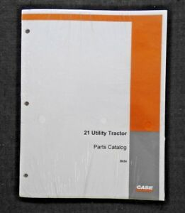CASE 1958-59 200B 210B 211B TRACTOR 21 LOADER PARTS MANUAL CATALOG MINT SEALED