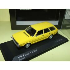 VW PASSAT VARIANT B1 1976 Jaune MINICHAMPS 1:43