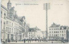 CP Belgique - Malines - Marché aux grains