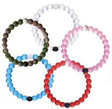 1 x Hybrid Lokai Silicone Bracelets Dead Sea Mt Everest - Clear Small!! From AU