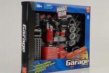 Garage Werkstatt shop Set Diorama Equipment Zubehör 1:24 Figur Hobby Gear