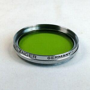 VOIGTLANDER GERMANY 306/41 AR 40.5 Gr 4x LW -2 FILTER - SUPERB CONDITION.