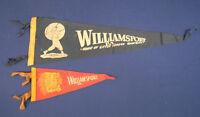 Vintage Felt Pennant 1940-1950s 2 Williamsport PA Home of Little League Baseball