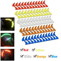 Reflective Decal For Rubber Helmet Mohawk Warhawk Spikes Saw Dirtbike