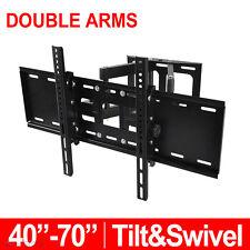 TV Wall Mount Bracket Tilt Swivel 40 42 46 50 58 60 65 70 LCD LED Plasma VESA AU