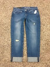 NEW! GAP Straight Crop JEANS - Size: 2 / 26 - S/ 927305-00 - 070