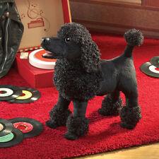 *NEW* PLUSH SOFT TOY Folkmanis 3095 Black Poodle Dog Full Body Hand Puppet