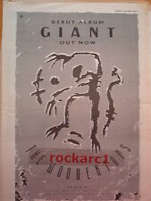 WOODENTOPS Giant album 1986 UK Poster size Press ADVERT 16x12""