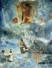 Salvador Dali Ecumenical council reproduction 16.5X12 canvas print art poster