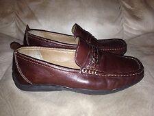 Florsheim Comfortech Men's Brown Leather Slip On Shoes Size 8.5