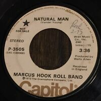 Marcus Hook Roll Band Natural Man VG WLP Angus Young pre-AC/DC