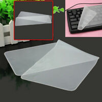 """Clear Protector Cover Universal Laptop Silicone Keyboard Skin for 17"""" 15"""" Laptop"""