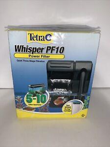 Tetra 26316 Whisper Filter PF10 5-10-Gallon - NIB Unopened