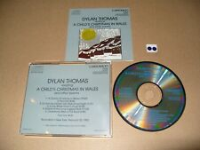 DYLAN THOMAS Reading A Child's Christmas In Wales 1984 Japan cd Ex condition