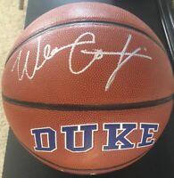 Wendell Carter Jr. Duke Blue Devils Bulls Autographed Signed Basketball JSA COA