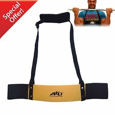 ARD CHAMPS™ Heavy Duty Arm Blaster Body Building Bomber Bicep Curl Triceps Gold