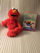 "Sesame Street Elmo Plush & Sesame Street  ""Wake Up With Elmo"" DVD"