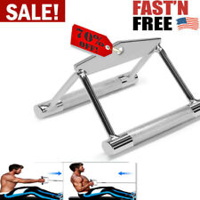Yes4All Double D Row Handle Cable Attachment NON SLIP For Home Gym Fitness 360°