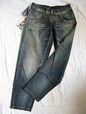 Miss Sixty Blue Jeans Baggy Denim W28/L32 easy fit x-low waist x-wide leg baggy