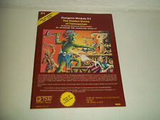VINTAGE AD&D ADVANCED DUNEONS AND DRAGONS DUNGEON MODULE C1 TSR 9032