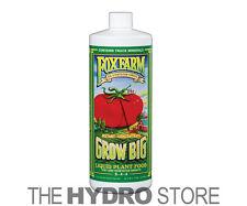 Fox Farm Grow Big Soil 1 Quart 32oz -qt nutrients foxfarm hydroponics