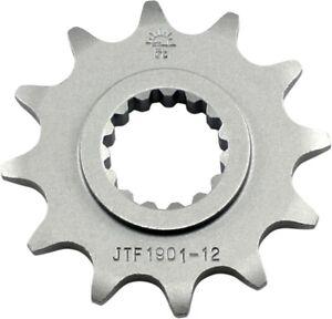 Front Steel Countershaft Sprocket - 12 Tooth 520 JT Sprockets JTF1901.12