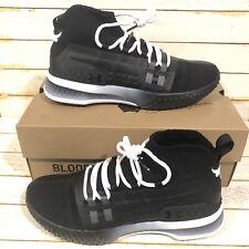 UA Project Rock 1 'Black' Delta White Shoes  [3020788-001] Men's Size 9 New