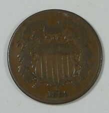 1869 Two-Cent Piece VERY GOOD 2-Cents