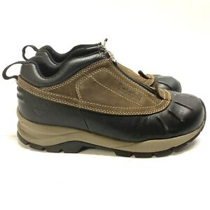 Timberland Womens Canard Waterproof Leather Zip Up Hiking Boots Duck Shoes 5 M
