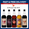 Sweetbird Syrups | Full Range for Coffees & Cocktails  | 1L Plastic Bottles