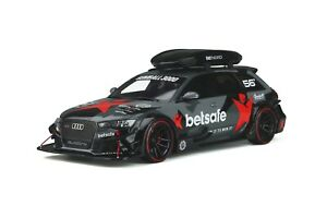 1/18 GT Spirit Audi RS6 Avant DTM from 2015 in Black with Luggage Rack GT321