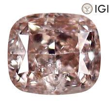 0.53 ct IGI Certified Awe-inspiring Cushion Cut (5 x 4 mm) I2 S (Light) Diamond