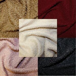 Faux Fur Fabric Italian Sheep Skin  150cm Wide