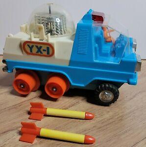 Vintage YONEZAWA 21 CENTURY SPACE PATROL LUNAR EXPLORER Toy JAPAN