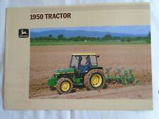 John Deere 1950 Tractor brochure undated English text ref 10-1884068