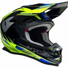 2017 UFO Onynx Motocross MX Enduro Helmet - Nos Black Blue Yellow