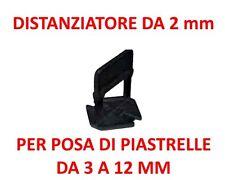 DISTANZIATORI LIVELLANTI DISTANZIATORE 2 mm piastrelle 3-12 mm tipo raimondi