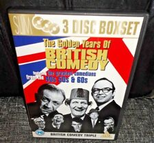 The Golden Years Of British Comedy From The 40s, 50s & 60s (DVD, 2007. 3-Discs)