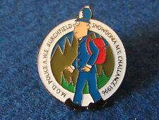 Enamel Police Badge - M.O.D. Police - Snowdonia MS Challenge 1996