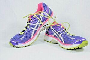 Asics Women's Sz 10 Gel GT-2000 T2K7N Fluid Ride Running Shoes Purple Y270