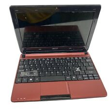 Maroon Acer Aspire One #D257-1497 - Cracked Screen - For Parts/Repair