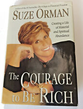 Courage to be Rich Suze Orman 1999 Hardcover Personal Finance Money Book